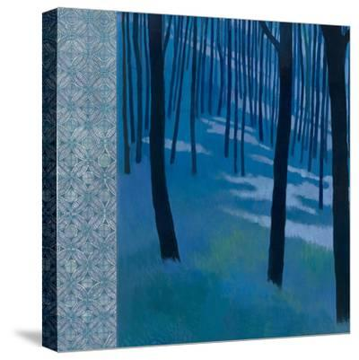Blue Path to the Edge of the Woods-Kathrine Lovell-Stretched Canvas Print