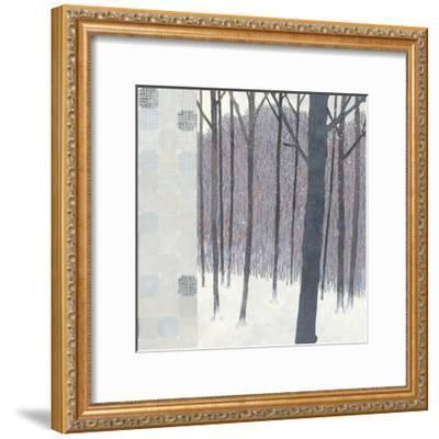 Winters End Flurries-Kathrine Lovell-Framed Art Print