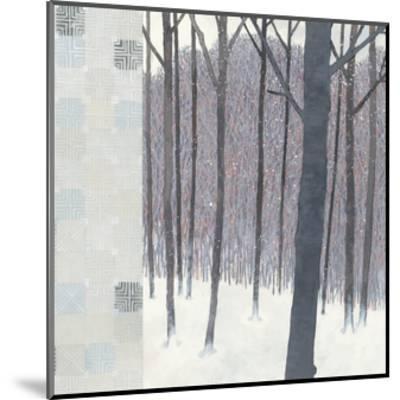 Winters End Flurries-Kathrine Lovell-Mounted Art Print