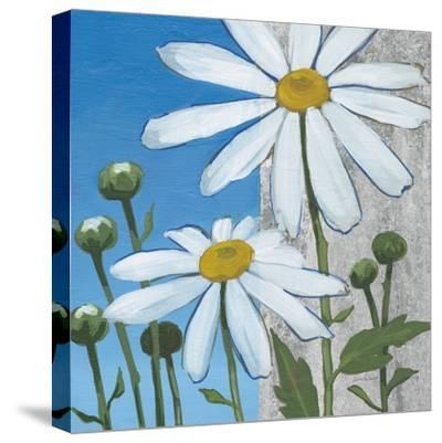 Summer Garden I Silver-Kathrine Lovell-Stretched Canvas Print