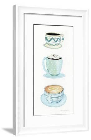 Coffee Break Element VI-Kathleen Parr McKenna-Framed Art Print