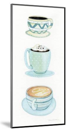Coffee Break Element VI-Kathleen Parr McKenna-Mounted Art Print