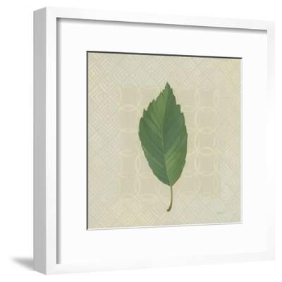 Forest Leaves III no Lines-Kathrine Lovell-Framed Art Print