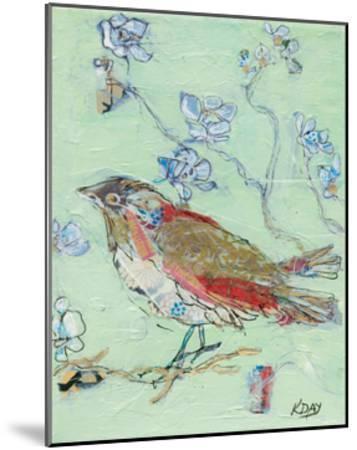 Sea Foam Bird-Kellie Day-Mounted Art Print