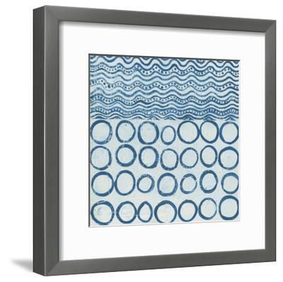 Maki Tile XI-Kathrine Lovell-Framed Art Print