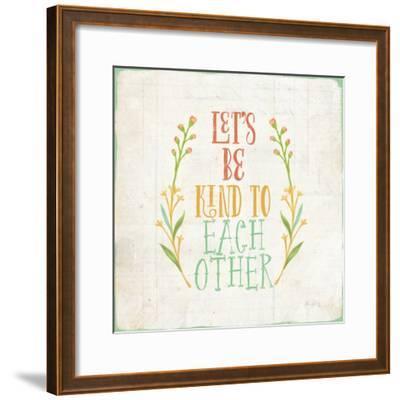 Be Kind I-Katie Pertiet-Framed Art Print