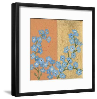 Forget Me Not-Kathrine Lovell-Framed Art Print