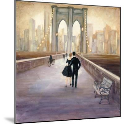 Bridge to NY-Julia Purinton-Mounted Art Print