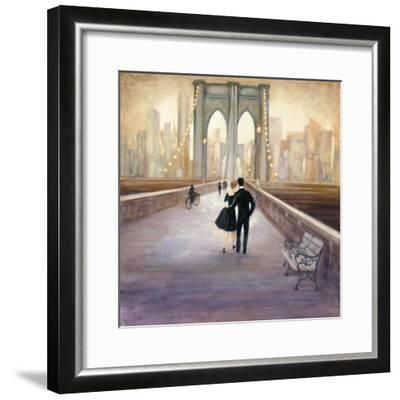 Bridge to NY-Julia Purinton-Framed Art Print