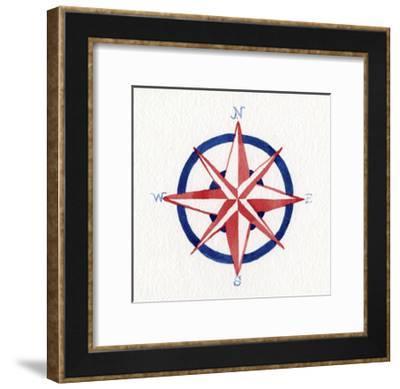 Coastal Icon II-Kathleen Parr McKenna-Framed Art Print