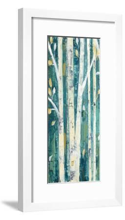 Birches in Spring Panel I-Julia Purinton-Framed Art Print