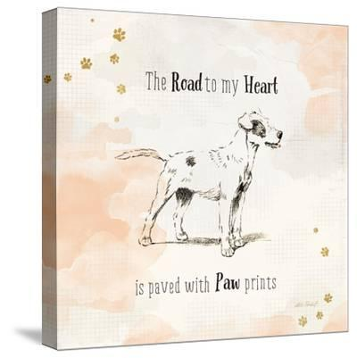 Furry Friends I-Katie Pertiet-Stretched Canvas Print