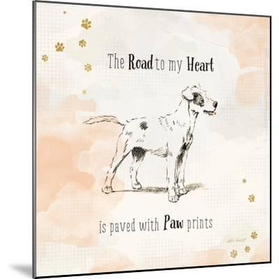 Furry Friends I-Katie Pertiet-Mounted Art Print