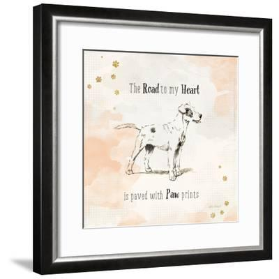 Furry Friends I-Katie Pertiet-Framed Art Print