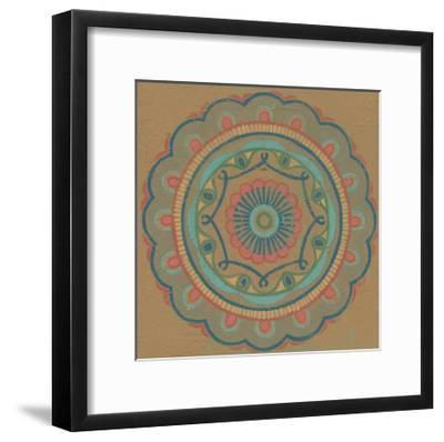 Lakai Circle III-Kathrine Lovell-Framed Art Print