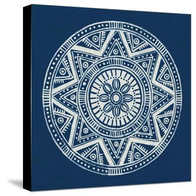 Seville I Dark Blue FB-Kathrine Lovell-Stretched Canvas Print