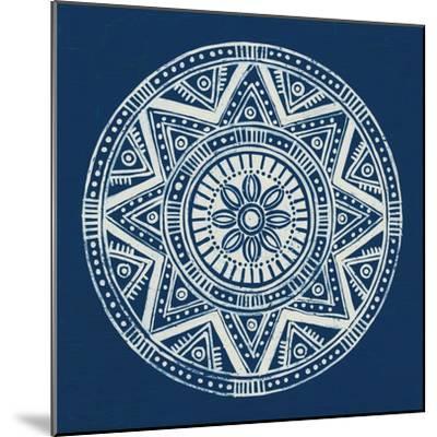 Seville I Dark Blue FB-Kathrine Lovell-Mounted Art Print
