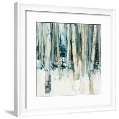 Winter Woods II-Julia Purinton-Framed Art Print