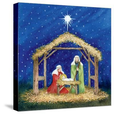 Christmas in Bethlehem III-Kathleen Parr McKenna-Stretched Canvas Print