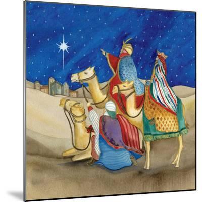 Christmas in Bethlehem II Square-Kathleen Parr McKenna-Mounted Art Print