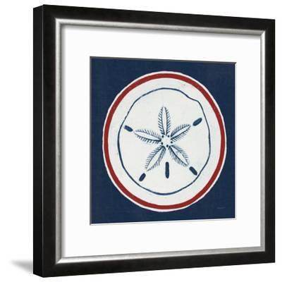 Summer Shells I Nautical-Kathrine Lovell-Framed Art Print