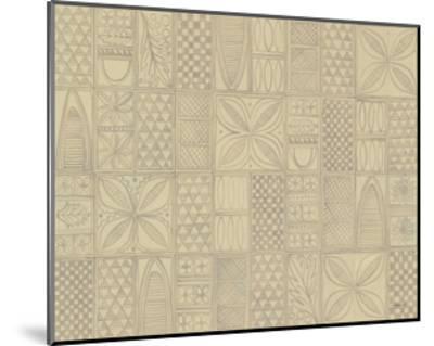 Patterns of the Amazon II-Kathrine Lovell-Mounted Art Print