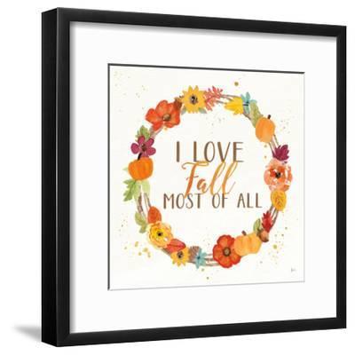 Harvest Wishes I-Jess Aiken-Framed Art Print