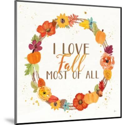 Harvest Wishes I-Jess Aiken-Mounted Art Print