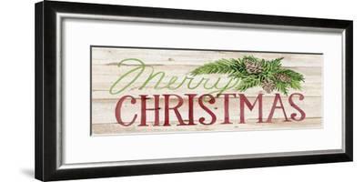 Holiday Sayings II on Wood-Kathleen Parr McKenna-Framed Art Print