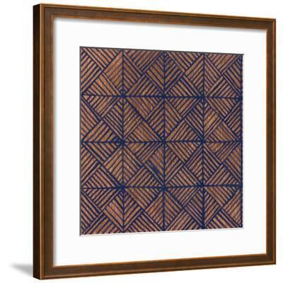 Copper Pattern II-Kathrine Lovell-Framed Art Print