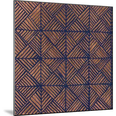 Copper Pattern II-Kathrine Lovell-Mounted Art Print