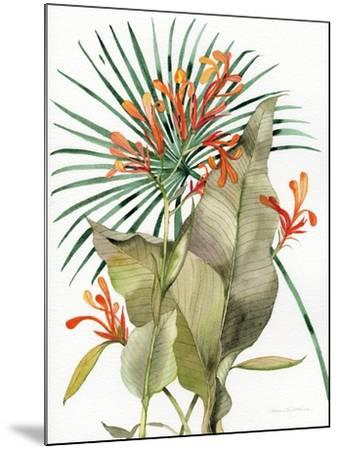 Botanical Flame Lilies-Kathleen Parr McKenna-Mounted Art Print