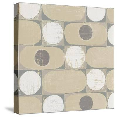16 Blocks Square X Archroma-Kathrine Lovell-Stretched Canvas Print