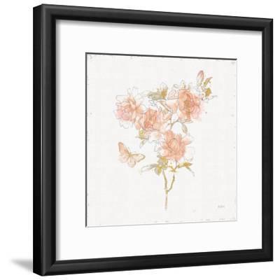 Watery Blooms VII-Katie Pertiet-Framed Art Print