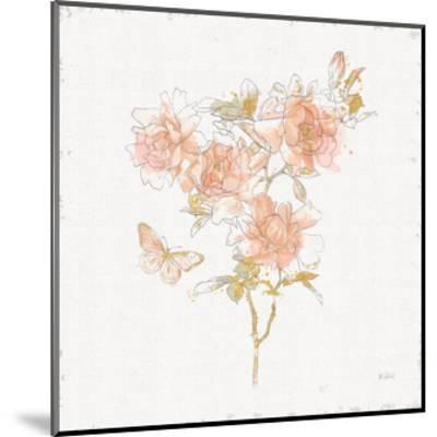 Watery Blooms VII-Katie Pertiet-Mounted Art Print