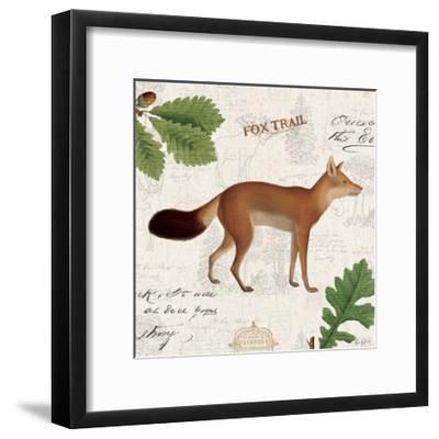Lodge Collage VI-Katie Pertiet-Framed Art Print
