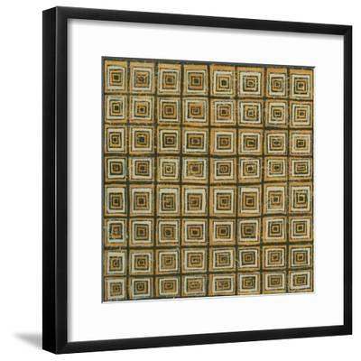 Square in Square-Kathrine Lovell-Framed Art Print