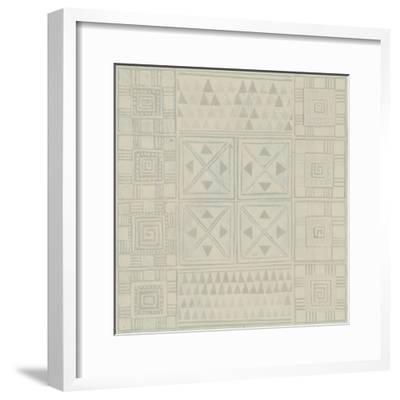 Geometric Tone on Tone II-Kathrine Lovell-Framed Art Print