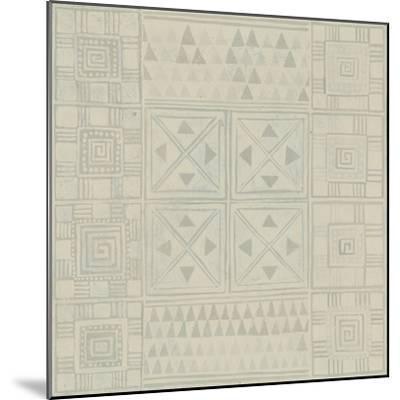 Geometric Tone on Tone II-Kathrine Lovell-Mounted Art Print