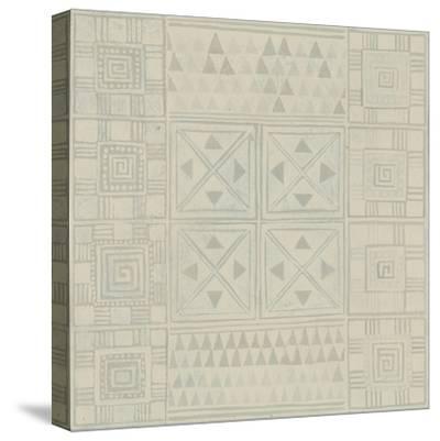 Geometric Tone on Tone II-Kathrine Lovell-Stretched Canvas Print
