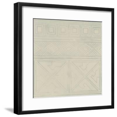 Geometric Tone on Tone I-Kathrine Lovell-Framed Art Print