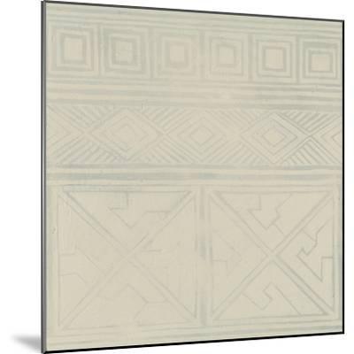 Geometric Tone on Tone I-Kathrine Lovell-Mounted Art Print