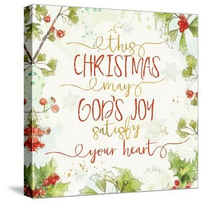 Christmas Sentiments III-Katie Pertiet-Stretched Canvas Print