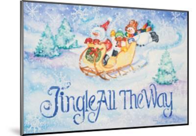 Jingle All the Way-Kathleen Parr McKenna-Mounted Art Print