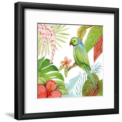 Treasures of the Tropics VII-Kathleen Parr McKenna-Framed Art Print