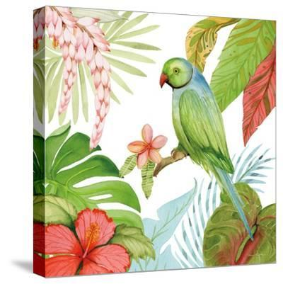 Treasures of the Tropics VII-Kathleen Parr McKenna-Stretched Canvas Print