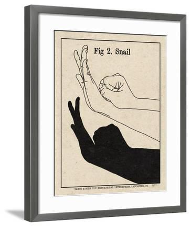 The Art of Shadows II-Mary Urban-Framed Art Print