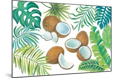 Coconut Palm-Mary Urban-Mounted Art Print