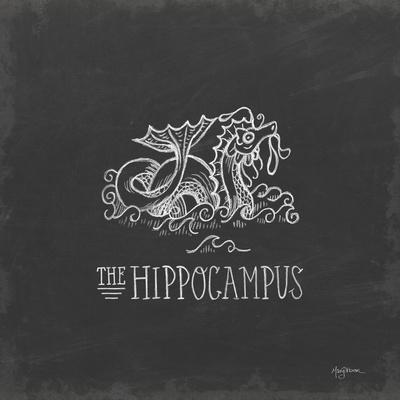 Mythical Map IV-Mary Urban-Framed Art Print