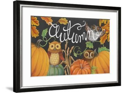 Harvest Owl II-Mary Urban-Framed Art Print
